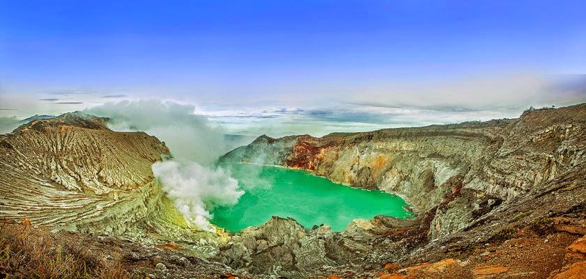 sewa bus pariwisata untuk wisata ke kawah ijen banyuwangi