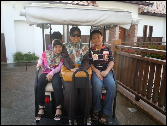 Naik buggy di Grand Lexis Port Dickson