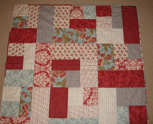 Quilt Pattern For 9 Fat Quarters : Buttonberry: Stashbuster Quilt Tutorial