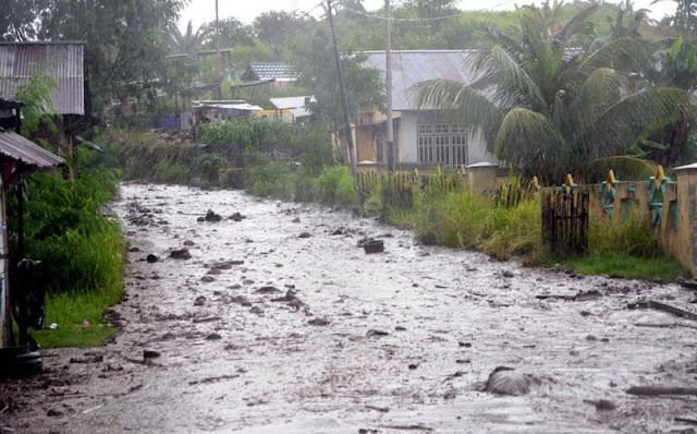 Banjir Lahar Dingin Gunung Gamalama, 4 Meninggal