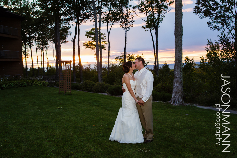 Jason Mann Photography - Door County Wedding Sunset