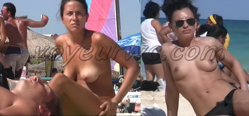 Beach Babes Yucatan 07 (Nude and Topless Beach - Spy Cam)