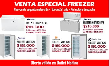 Venta Especial Freezer