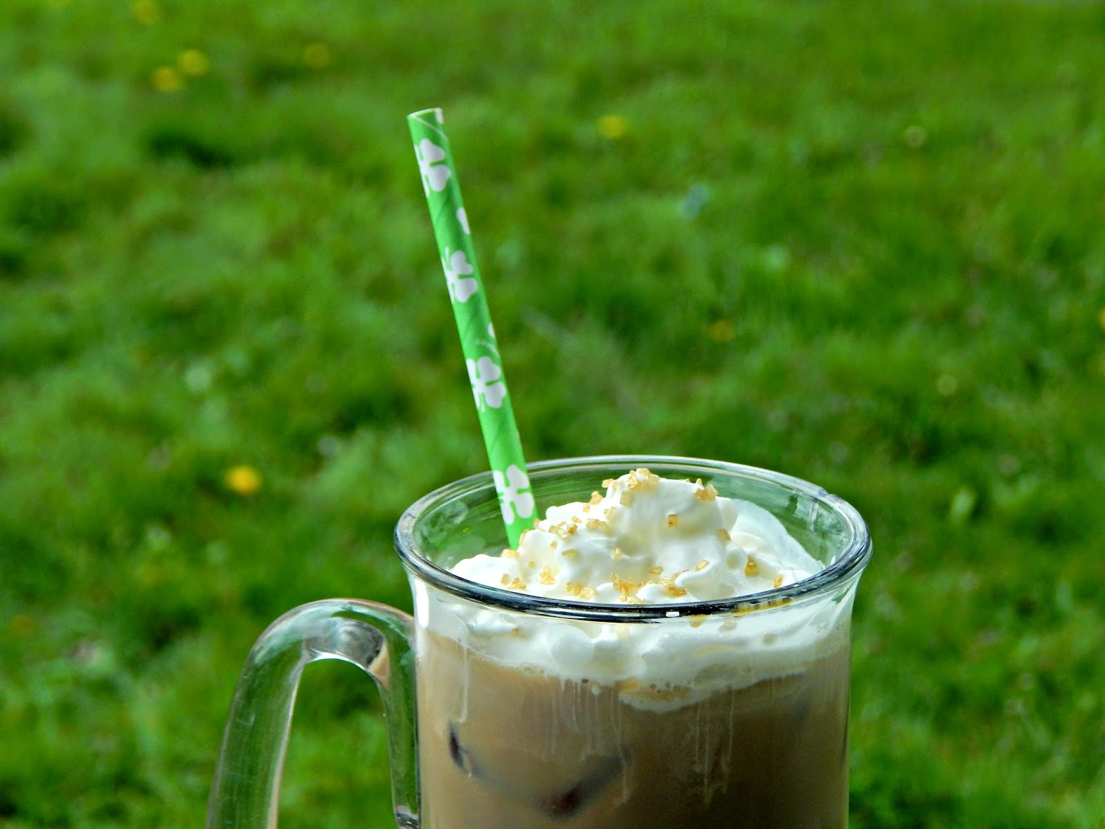 butterscotch Irish Cream Iced Coffee