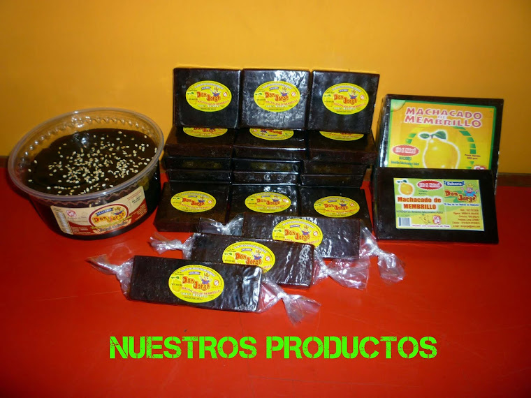 Productos Dulceria Don Jorge