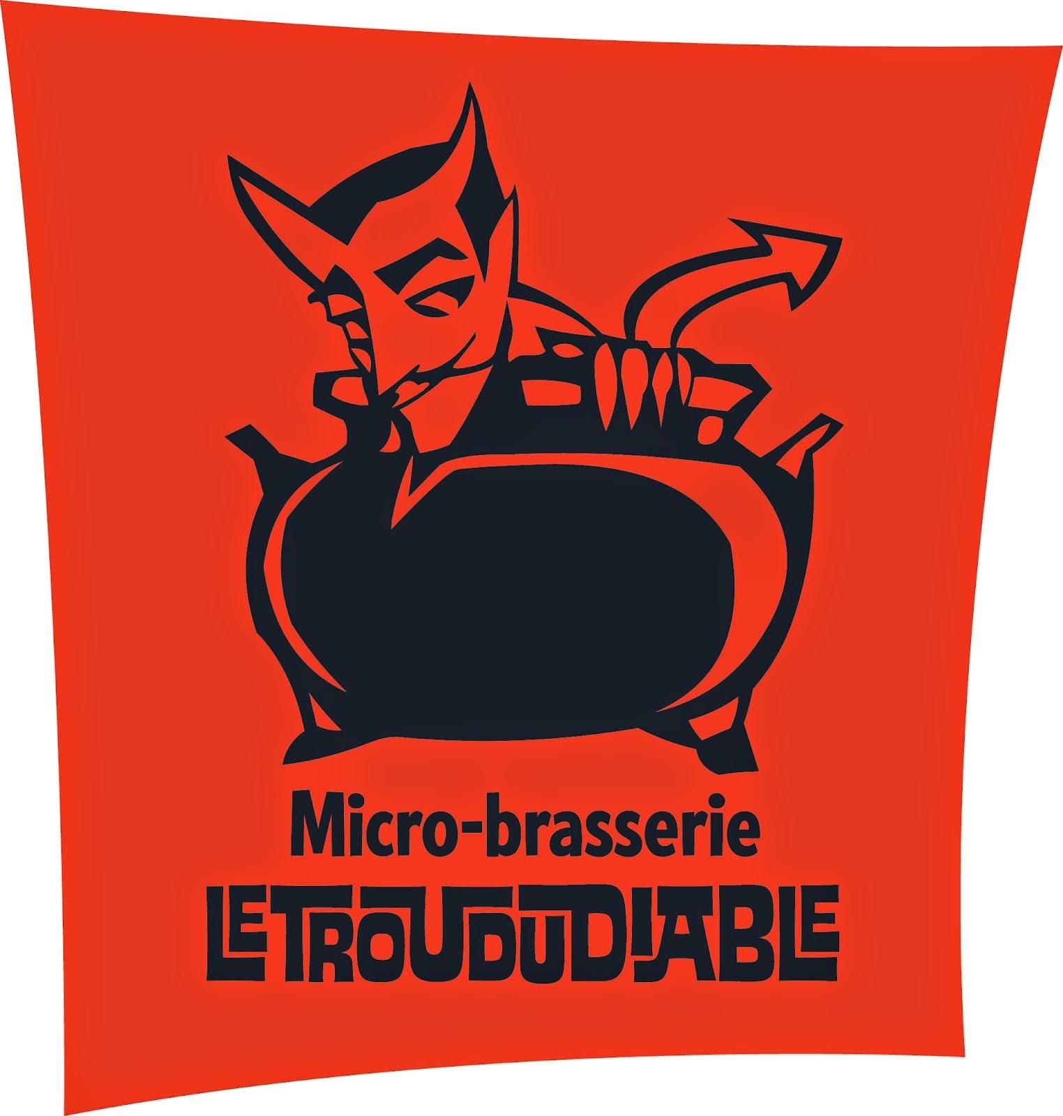 Merci à la micro-brasserie Le Trou du diable