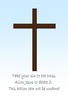 Sin, cross, forgiveness, Jesus