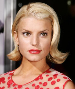 vintage hair jessica simpson via Lexi DeRock at voluptuous vintage vixen