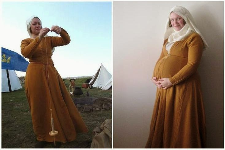 A Most Peculiar Mademoiselle: 14th Century Clothing for Pregnancy