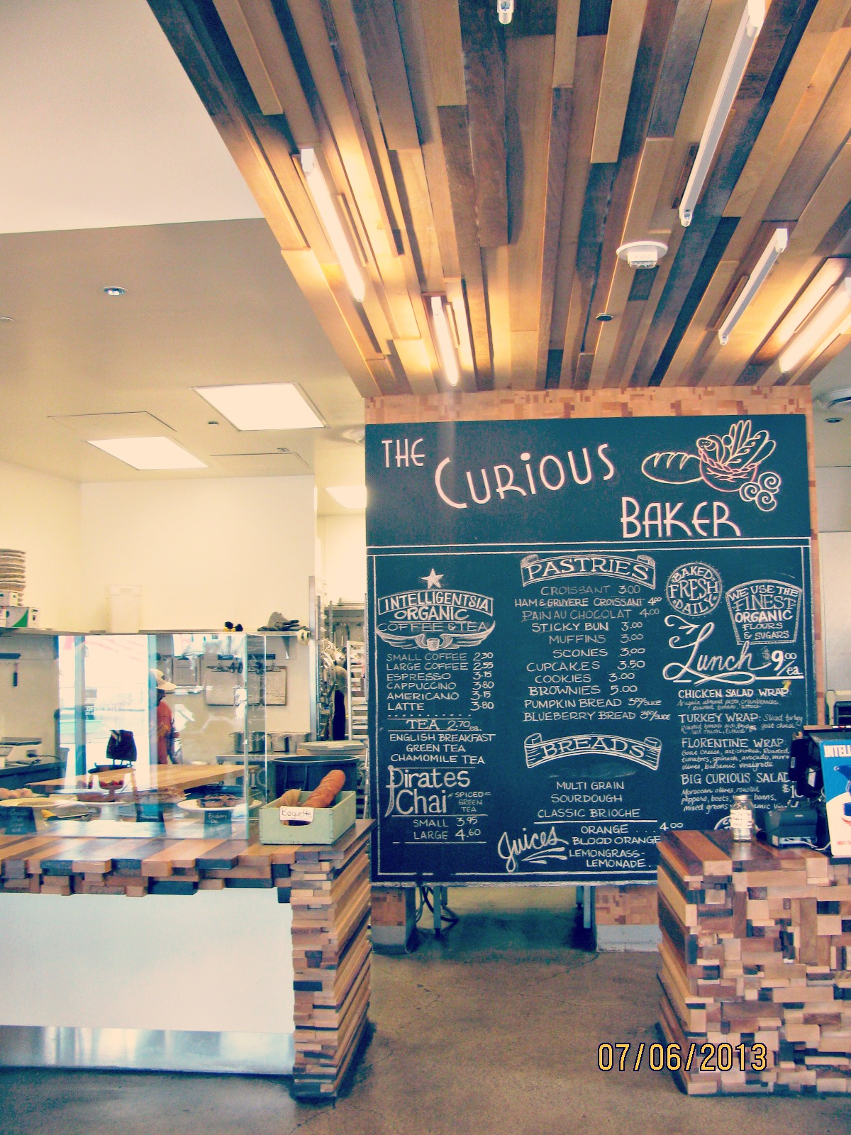 Santa Monica Place // The Curious Baker at The Market