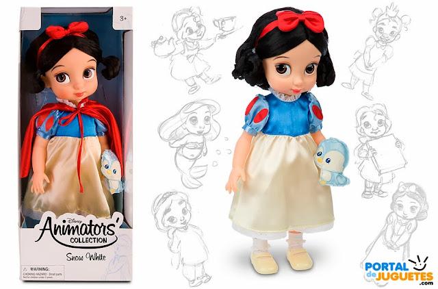 muñeca blancanieves coleccion animators