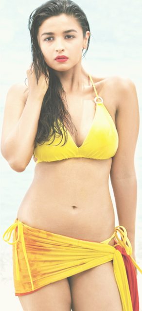 Alia bhatt two piece bikini hot photos