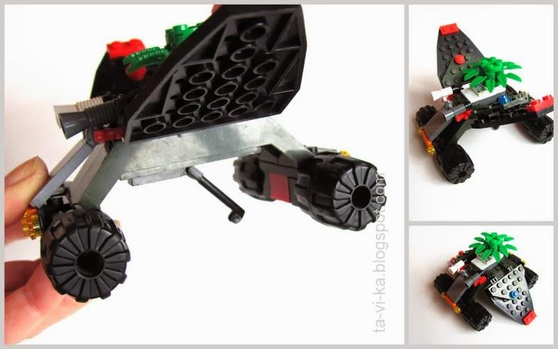 космический аппарат из lego