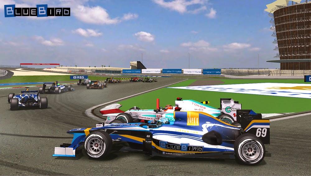 Bahreini Nagydíj, Formula-1 Szentliga, Szentliga, BlueBird Racing, szimulátorbajnokság, sport, F1,