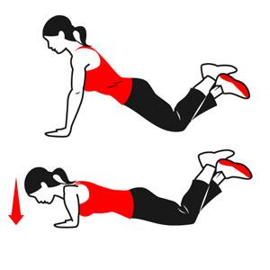 Flexiones fáciles