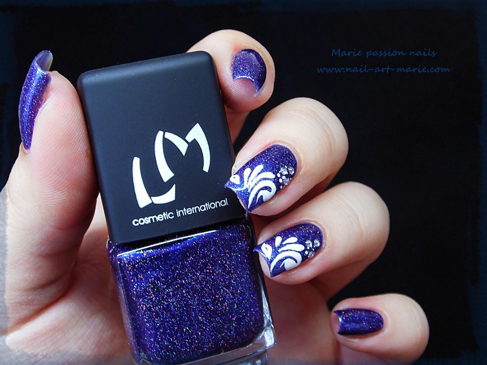 Nail Art gouttes sur Magie (G)2