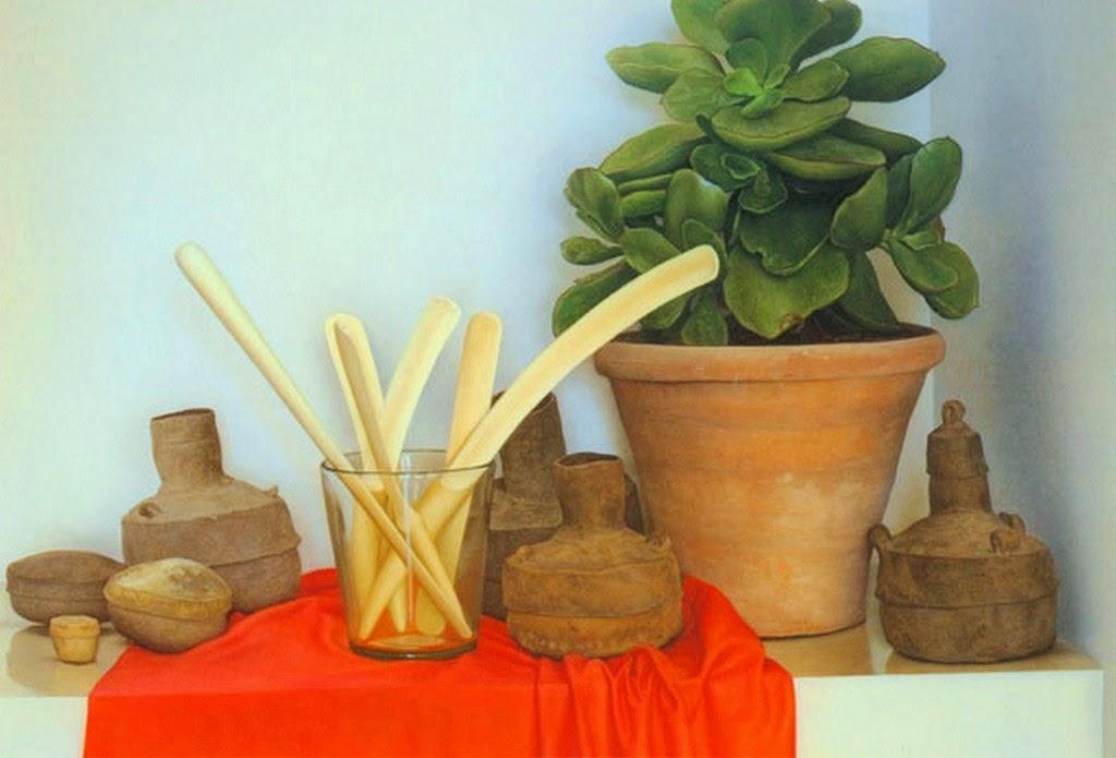 bodegones-con-plantas-pintados