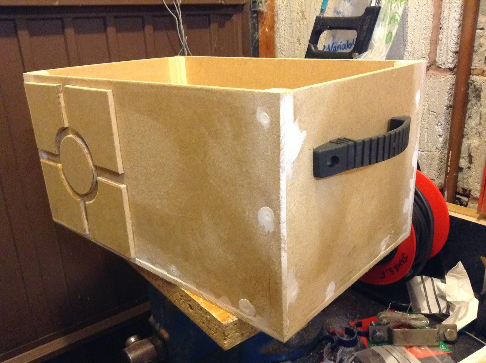 Star Wars container box scanner crew