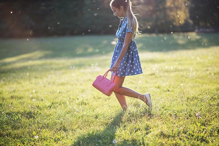 borsa bauletto rosa