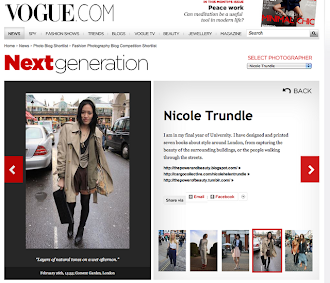 Featured in Vogue