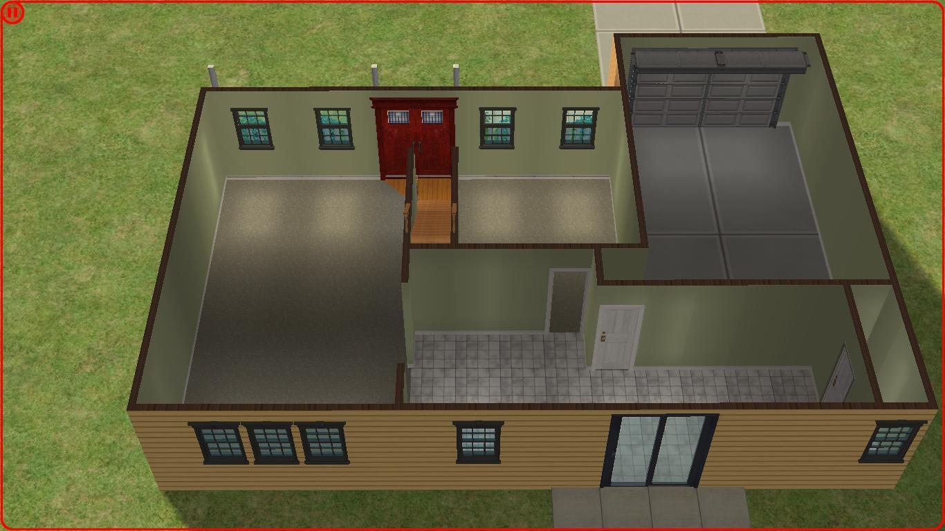 Sims 2 lot downloads 2 story family house - Four bedroom houses great choice big families ...