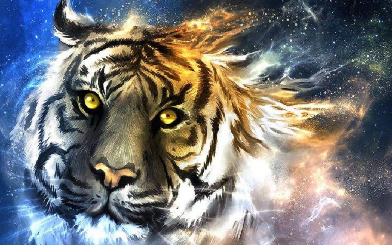 Tiger animals 34278174 1440 900 - La Evolución de la Conciencia Animal.