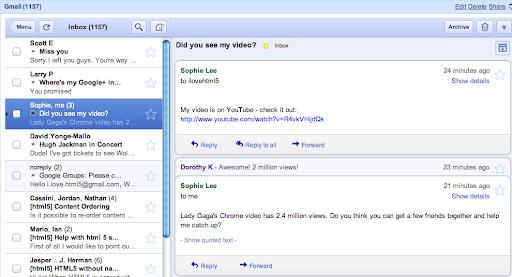 gmail igoogle gadget