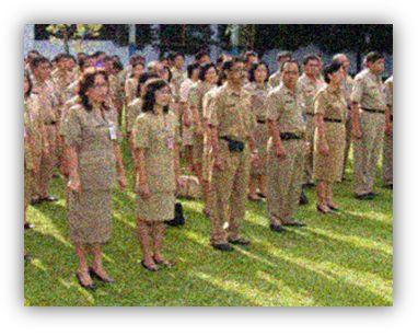 Gambar: pegawai negeri sipil (PNS)