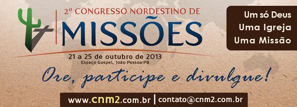 2º CONGRESSO NORDESTINO DE MISSÕES