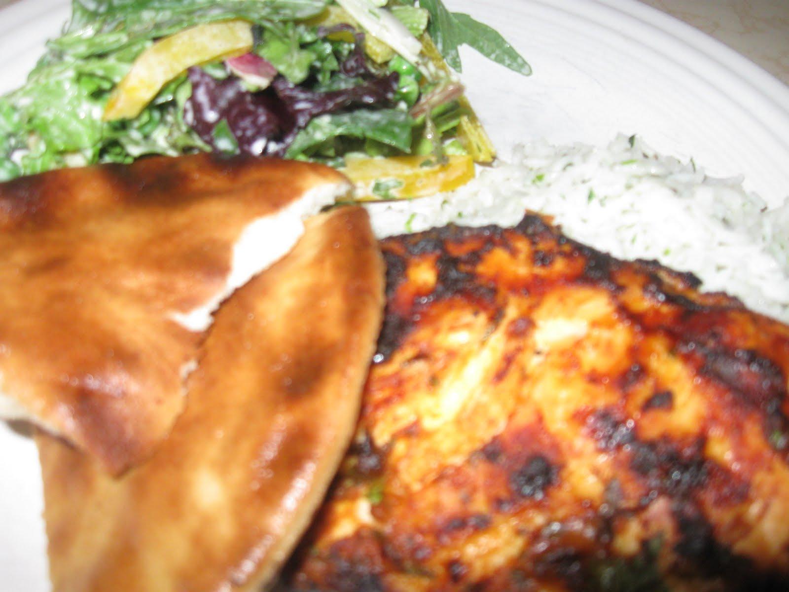 Moroccan Spiced Grilled Chicken Breasts Recipe — Dishmaps