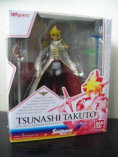 SH Figuarts Takuto Tsunashi Star Driver Anime Bones Bandai