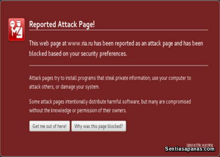 Fix Reported Attack Page