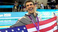 Olympic swimming champion Michael Phelps