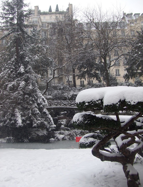 Jardins du Trocadéro - Rue Benjamin Franklin