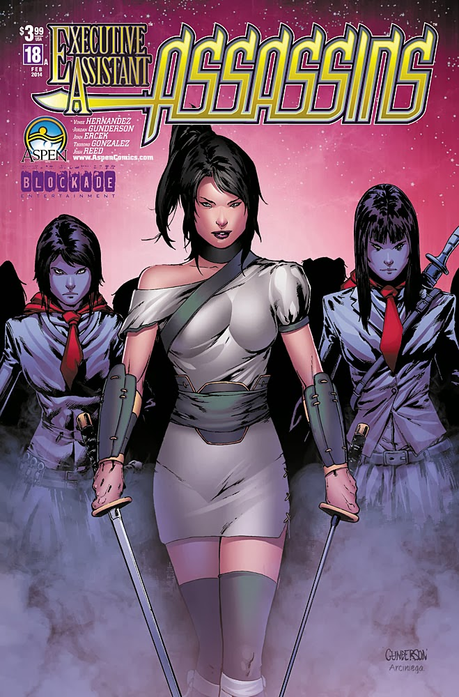 Preview: EXECUTIVE ASSISTANT: ASSASSINS #18