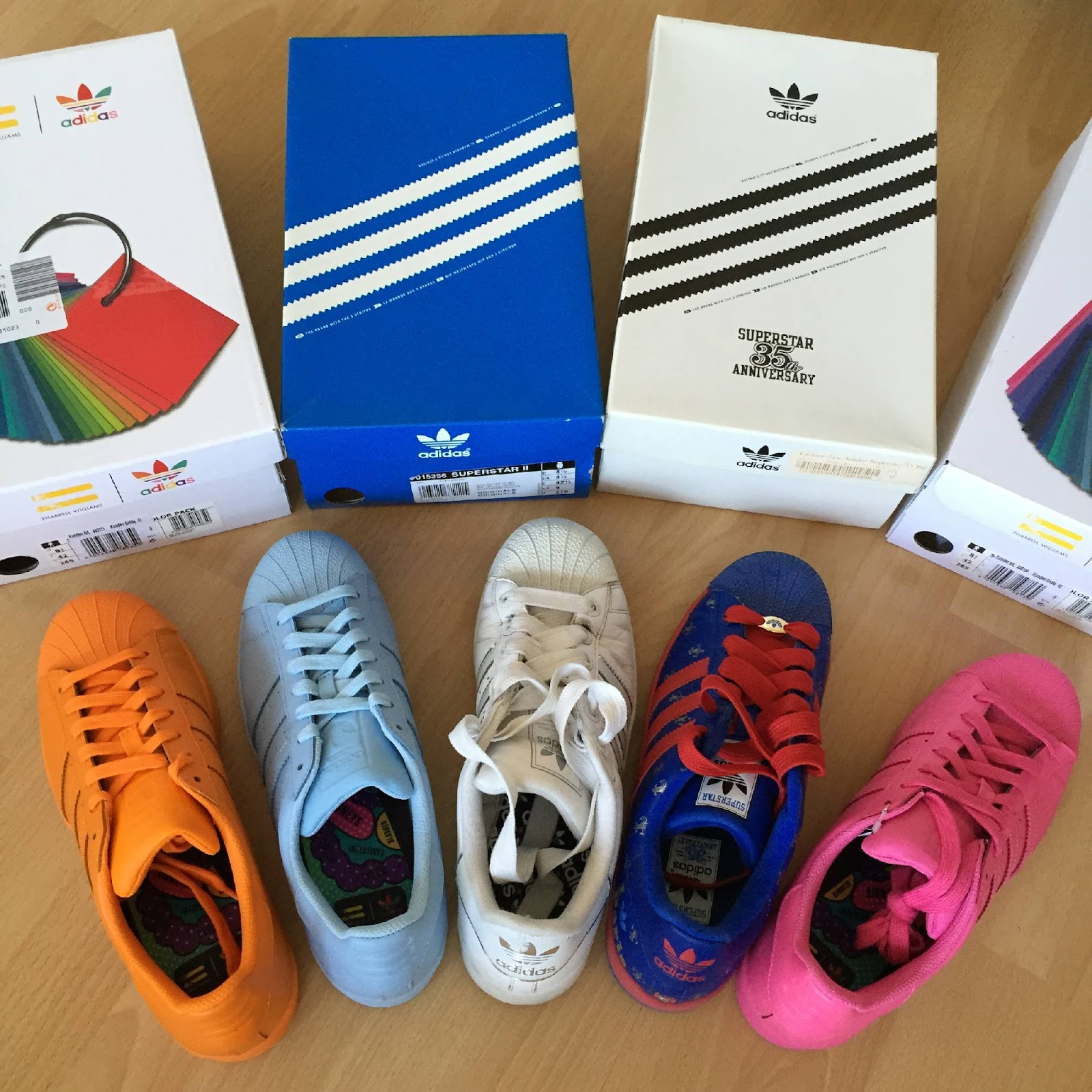 Adidas Superstar Bunte