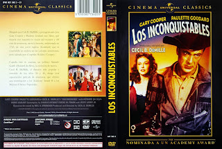 Caratula, cover, dvd: Los inconquistables | 1947 | Unconquered