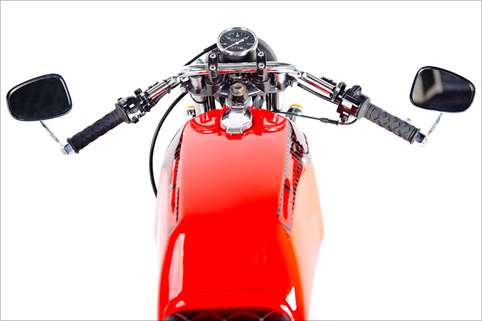 Racing Caf    Yamaha SR    250     Lunacy  by Garage Project Motorcycles