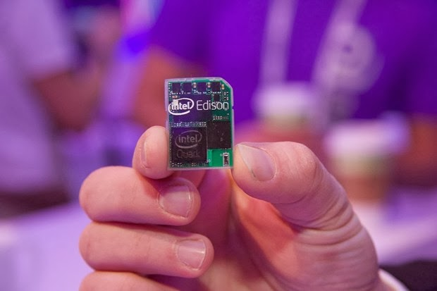 Intel Edison is a Full Computer on an SD Card, Launching in 2014