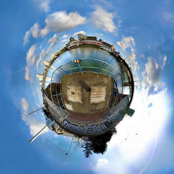 круглое фото в фотошопе онлайн