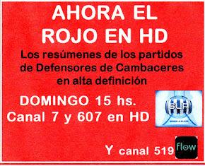 EL ROJO EN TV