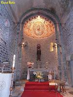 L'interior de l'església de Sant Esteve de Tavèrnoles. Autor: Ricard Badia