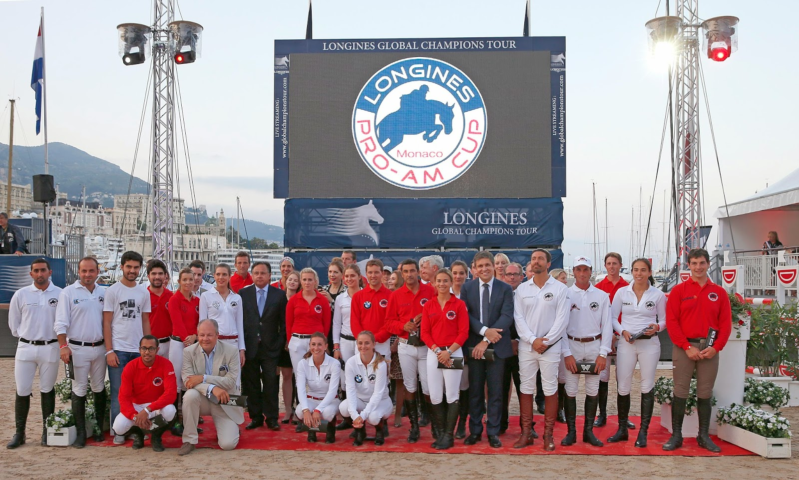 LONGINES Conquest, Global Champions Tour 2014 Montecarlo, Charlotte Casiraghi, Juan Carlos Capelli, pro-am cup, equitazione, show jumping, jane richard philips