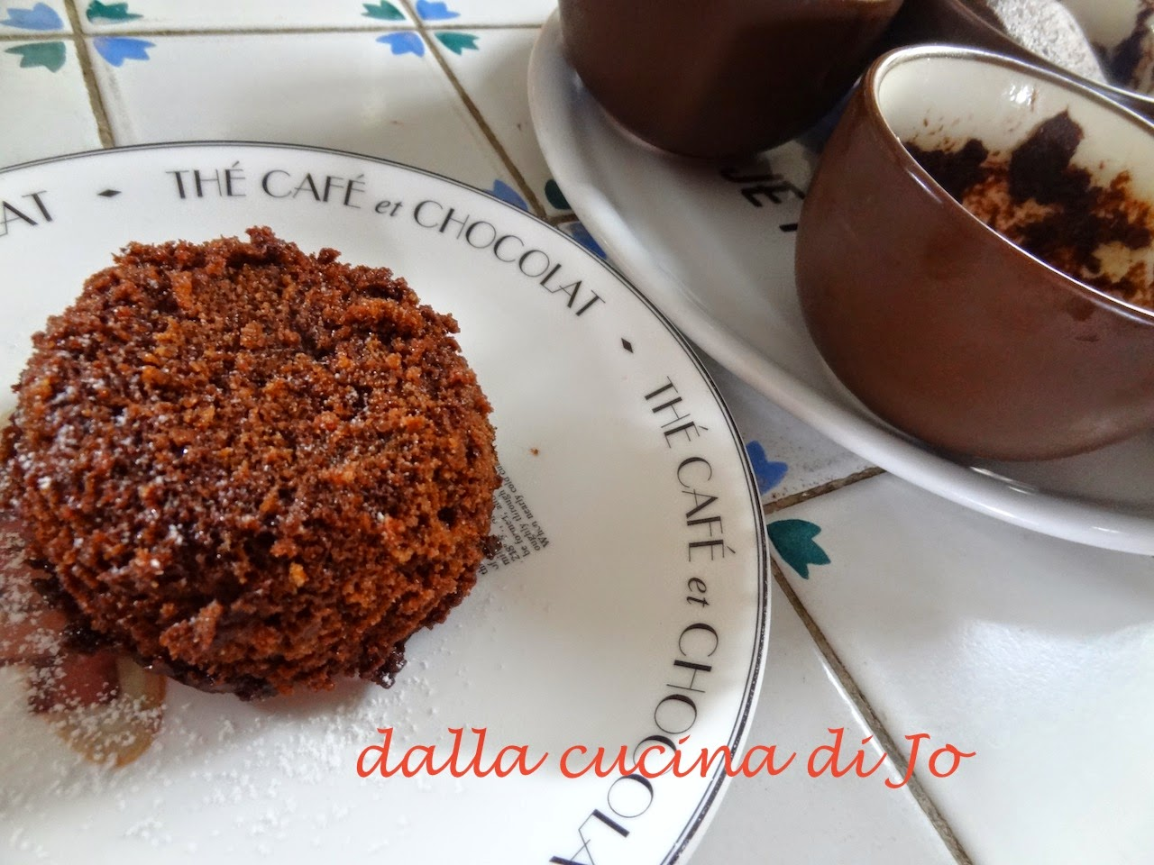 tortine al cacao in tazza