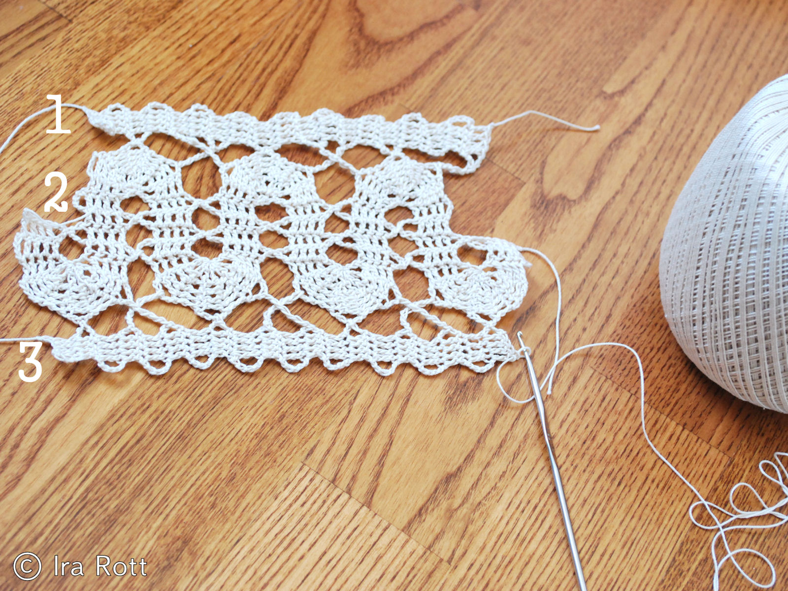 Crocheting Lace : Fashion Crochet Design By Ira Rott: Bruges Lace Crochet - Old ...
