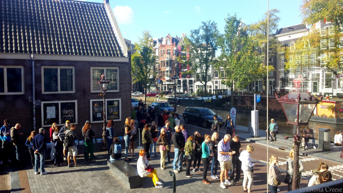 Anne Frank's Diary and the Anne Frank Museum: Amsterdam