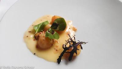 Cheuflada-cheese-mustard-seeds-pearl-onions-Eleven-Madison-Park-Stella-Dacuma-Schour-food-photography