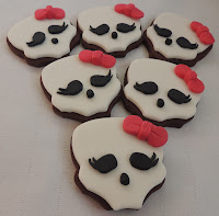 Cookies Calavera Monster High