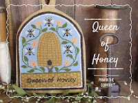 Queen of Honey Punch Needle Pattern $7.00