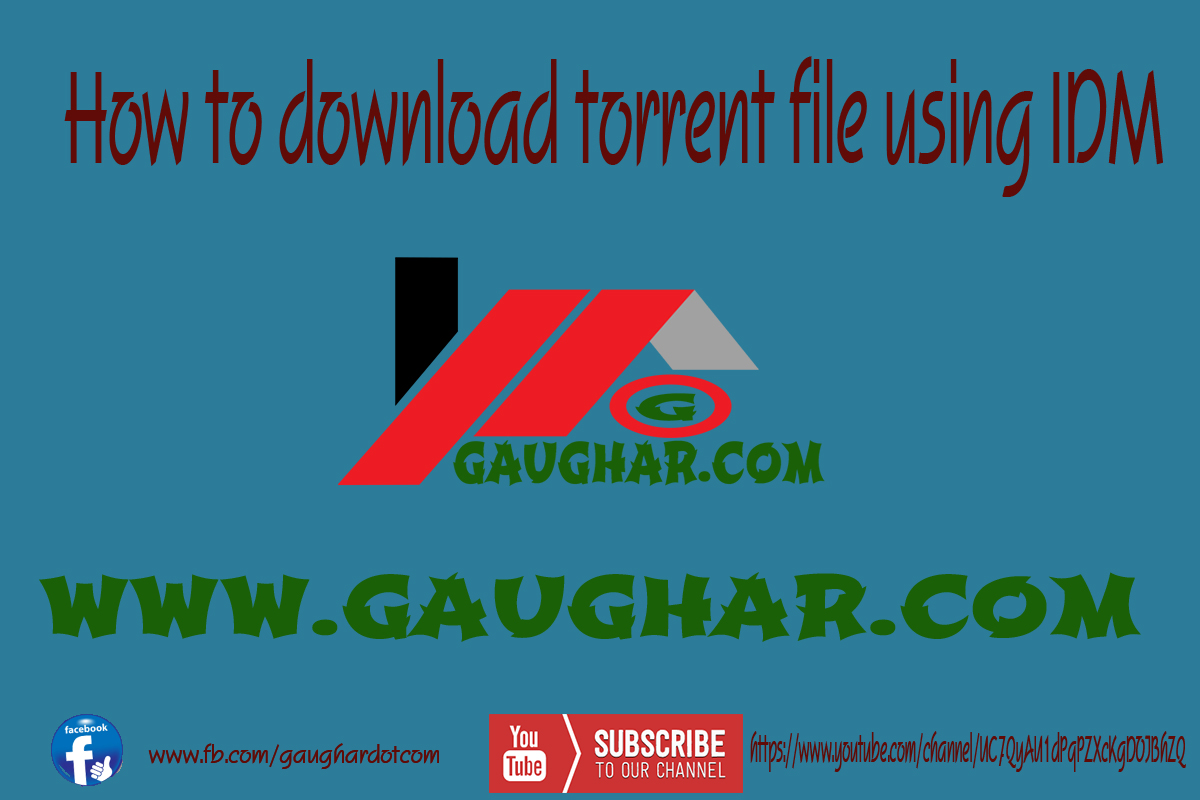 How To Download Torrent File Using Idm How To Download Multiple Youtube  Videos